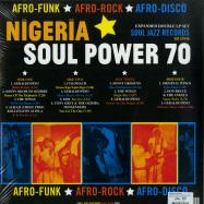 Back View : Various Artists - NIGERIA SOUL POWER 70 (2LP) - Soul Jazz / SJRLP446 / 05182001