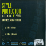 Back View : Dj Dsk, Matman, Dj Koncept And Menace - STYLE PROTECTOR (COLOURED 7 INCH) - Dna / DNA-005