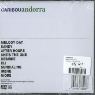 Back View : Caribou - ANDORRA (CD) - City Slang / slang0683208