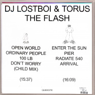 Back View : DJ Lostboi & Torus - THE FLASH (LP) - Queeste / Queeste003