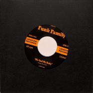 Back View : Robby Bergmann & Lego Edit - FUNK FAMILY (7INCH / CLEAR VINYL) - Legofunk Records / LGF705C