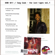 Back View : Tony Cook - THE LOST TAPES VOL. 1 (LP) - Happy Milf Records / HMR011