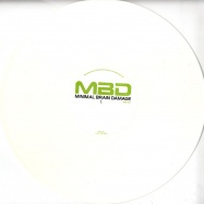 Back View : Toolman Aka F. Grant - GOLD BUNNY (White Coloured Vinyl) - Minimal Brain Damage / MBDS01