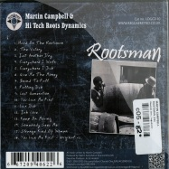 Back View : Martin Campbell - ROOTSMAN (CD) - Channel One / logcd010