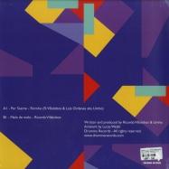 Back View : Ricardo Villalobos & Umho (Ricmho) - MELO DE MELO (180G VINYL ONLY) - Drumma Records / Drumma015