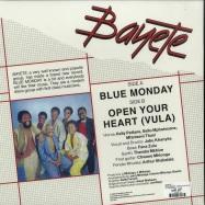 Back View : Bayete - BLUE MONDAY / OPEN YOUR HEART (VULA) - LA CASA TROPICAL / LCT 002