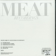 Back View : Specific Objects - ENCOUNTERS OF UNCERTAINTY - MEAT RECORDINGS / MR010