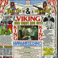 Back View : DJ Candle In The Wind - TAKE THE V & I OUT OF VIKING AND WHAT YOU GET? (LP) - Iron Magnesium Records / IMR005