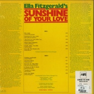 Back View : Ella Fitzgerald - SUNSHINE OF YOUR LOVE (LP) - MPS-Music / 0209874MSW