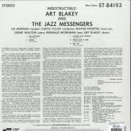 Back View : Art Blakey & The Jazz Messengers - INDESTRUCTIBLE (180G LP) - Blue Note / 7764739