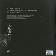 Back View : Freddy K - 1995 (LTD VINYL ONLY) - Key Vinyl / KEYVINYLLTD003