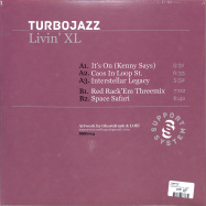 Back View : Turbojazz - LIVIN XL EP - Supportsystem Recordings / SSR04