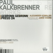 Back View : Paul Kalkbrenner - Reworks (12 Inch No.1) - Bpitch Control / BPC136
