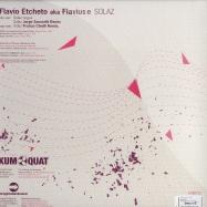 Back View : Flavio Etcheto - SOLAZ EP - Kumquat Tunes / kum022