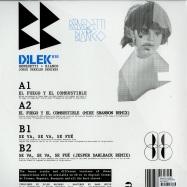 Back View : Benedetti & Bianco - JORGE DREXLER REMIXES (WHITE VINYL) - Dilek Records / dlk010