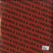 Back View : Various Artists - FRIENDS & VALUES (2X12 INCH) - White / White028
