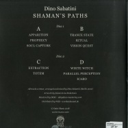 Back View : Dino Sabatini - SHAMANS PATHS (SPECIAL EDITION) (2LP) - Outis / OUTISOPERA003