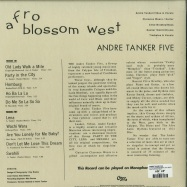 Back View : Andre Tanker Five - AFRO BLOSSOM WEST (LTD 180G LP) - Cree / CLP 1214 / 05165471