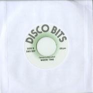 Back View : Cannon & Mirrorball - BLACK RHYTHM RAP (7 INCH) - Disco Bits / DBS1009