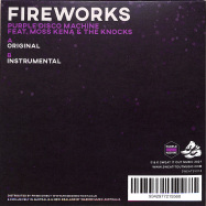 Back View : Purple Disco Machine featuring Moss Kena / The Knocks - FIREWORKS (FEATURING MOSS KENA & THE KNOCKS) (7 INCH) - Sweat It Out / SWEATSV018