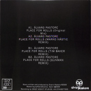 Back View : Alvaro Pastore - PLACE FOR ROLLS EP - Crazy Addict Recordings / CRA003