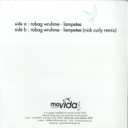 Back View : Robag Wruhme als Die Dub Rolle - LAMPETEE / NICK CURLY RMX - Movida Records / Movida001