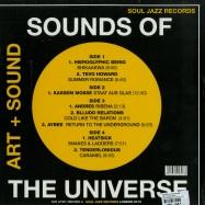 Back View : Various Artists - SOUNDS OF THE UNIVERSE: ART + SOUND PT. 1 (2X12 LP) - Soul Jazz Records / sjr lp307 (05113291)