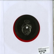 Back View : Nic Fanciulli - SAYING FEAT. DAMON ALBARN (RED COLOURED 7 INCH VINYL, ONE SIDED) - Saved Records / MYHEART004