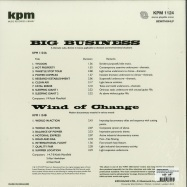 Back View : Various Artists - BIG BUSINESS (THE KPM REISSUES)(LP, 180G VINYL) - Be With Records / BEWITH044LP