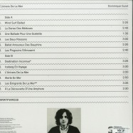 Back View : Dominique Guiot - L UNIVERS DE LA MER (LP, 140 G VINYL) - WRWTFWW / WRWTFWW038