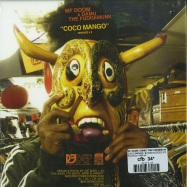 Back View : MF Doom x Damu The Fudgemunk - COCO MANGO, SLICED & DICED (COLOURED 7 INCH) - Redefinition / RDF145