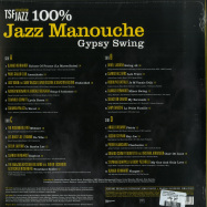 Back View : Various Artists - 100% JAZZ MANOUCHE - GYPSY SWING (2LP) - Wagram / 3370056 / 05181931