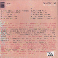 Back View : Larry Gus - SUBSERVIENT (LP) - DFA / 39226541