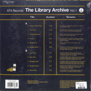Back View : Various - THE LIBRARY ARCHIVE VOL. 1 (180G LP + MP3) - Ata Records / ATALP020