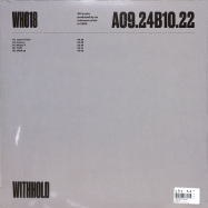 Back View : Unknown Artist - WH018 - Withhold / WITHHOLD018