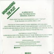 Back View : Who Made Who - THE PLOT (INCL NOZE & THE MOLE RMX) - Gomma 118