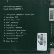 Back View : Gerd Janson Presents - MUSIK FOR AUTOBAHNS 2 (CD) - Rush Hour / RHM 018 CD