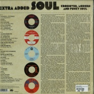 Back View : Various Artists - EXTRA ADDED SOUL: CROSSOVER, MODERN AND FUNKY SOUL (2X12 INCH LP) - Numero Group / jd003lp