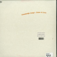 Back View : Constantijn Lange - POWER & LOVE, EP - Laut & Luise / lul012