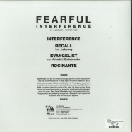 Back View : Fearful - INTERFERENCE LP SAMPLER (SILVER & BLACK 180G VINYL) - Diffrent Music / DIFFLP002S