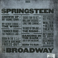 Back View : Bruce Springsteen - SPRINGSTEEN ON BROADWAY (4LP + MP3) - Sony / 19075904371