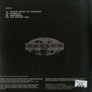 Back View : Dax J - CHAOS COME TO CONQUER EP - Monnom Black / MONNOM018