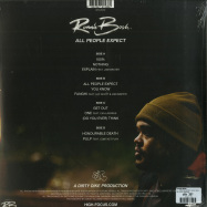 Back View : Ronnie Bosh - ALL PEOPLE EXPECT (2LP) - High Focus / HFRLP074