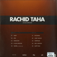 Back View : Rachid Taha - JE SUIS AFRICAIN (LP) - Naive / NV876706LP