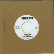 Back View : Audrey Hall / J.R.M Orchestra - GROOVE SITTUATION / SITUATION (7 INCH) - Horus Records / HRV119