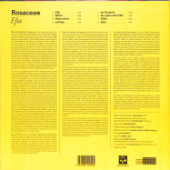 Back View : Rosaceae - EFIA (LP) - Pudel Produkte / PP32