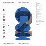 Back View : Steve O Sullivan - DIMENSIONS II (2LP) - Sushitech / SUSH 57