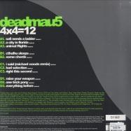 Back View : Deadmau5 - 4x4 = 12 (Coloured 2x12 Vinyl) - Mau5trap / Mau5LP053