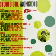 Back View : Various Artists - STUDIO ONE IRONSIDES (2X12 LP) - Soul Jazz Records / sjrlp260