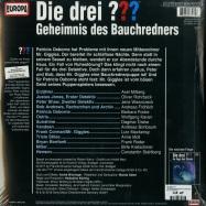 Back View : Die drei ??? - GEHEIMNIS DES BAUCHREDNERS (2LP) - Europa / 88985467171